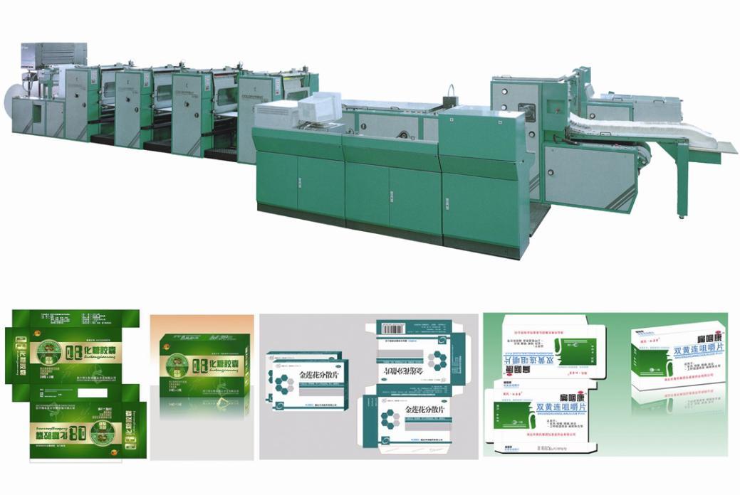 包装盒印制及印后加工解决方案
