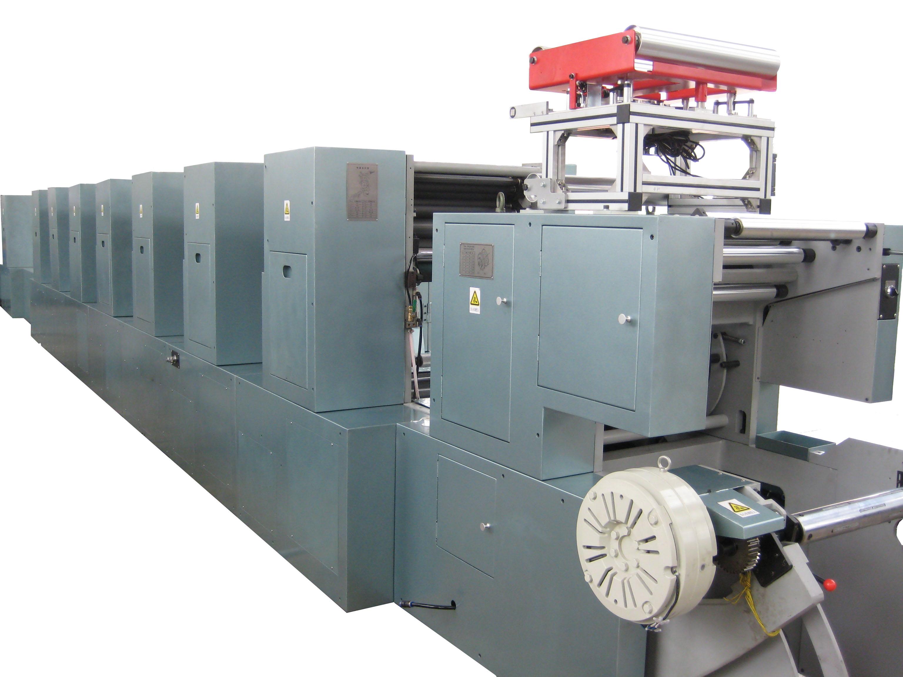 商用轮转印刷机